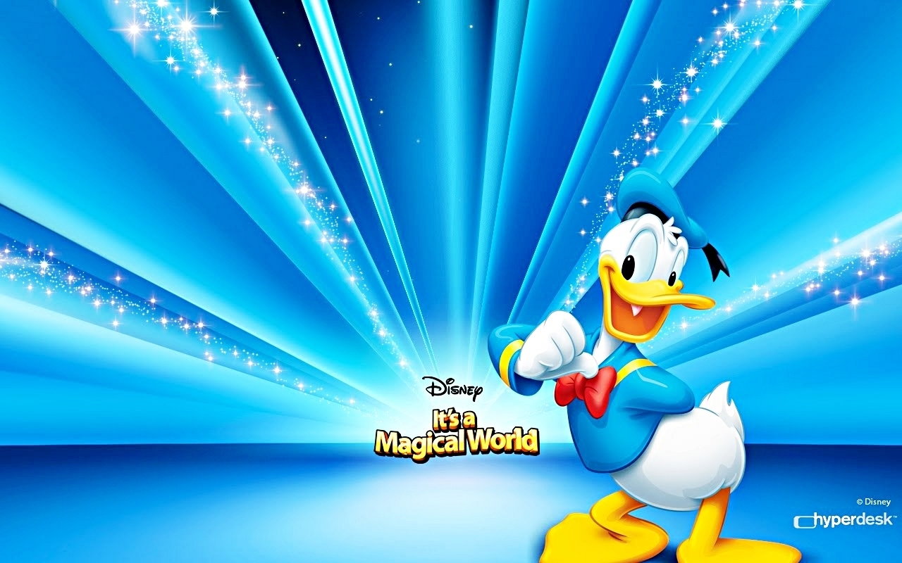 La multi ani, Donald Duck!