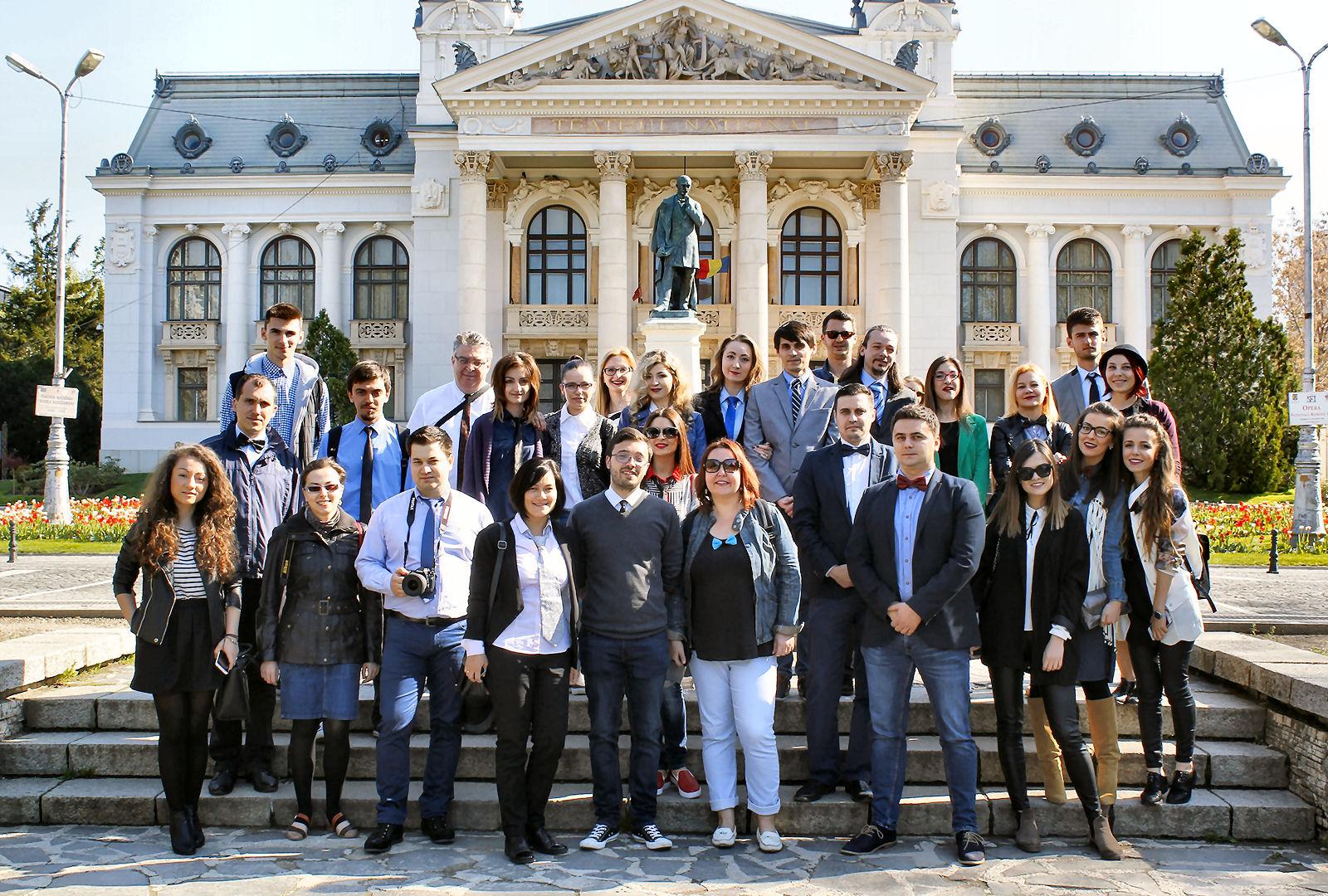 Domnițe și boieri bloggeri în tur de Iași