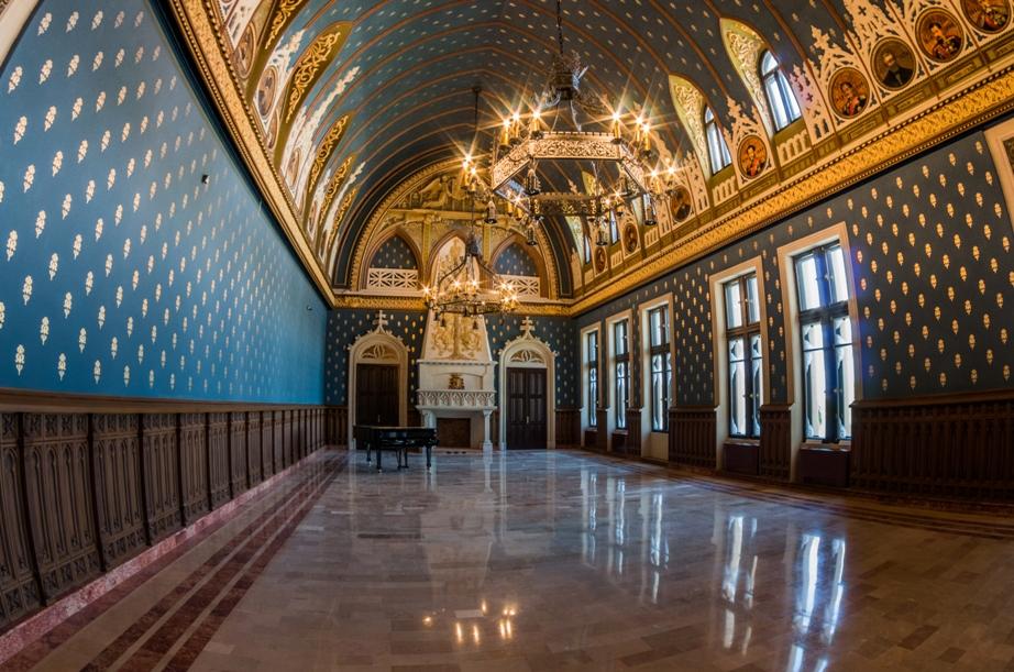 Interior Palatul Culturii