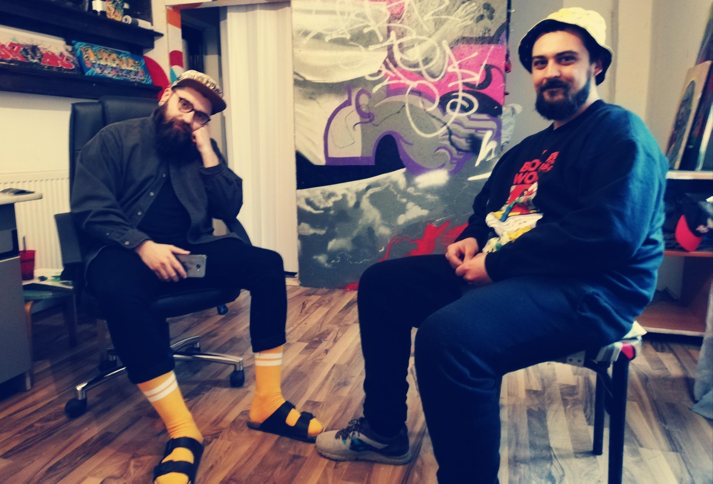 Kaps Crew: Avem nevoie de artă stradală și de muralism în Iași