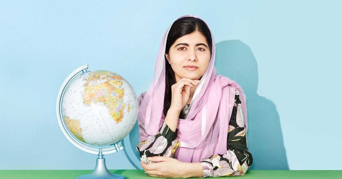 Cum e cea mai nouă carte scrisă de Malala?