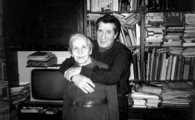 Gellu Naum și soția sa, Lygia, cu care a trăit una dintre cele mai frumoase povești de dragoste timp de 60 de ani