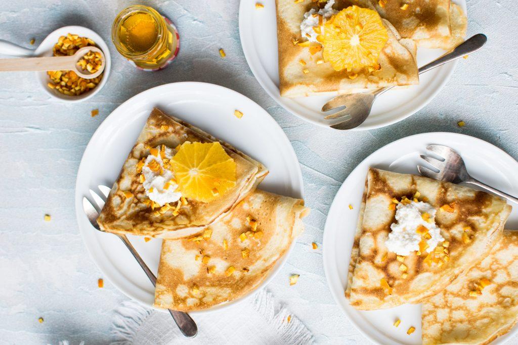 Idee de mic-dejun: clătite