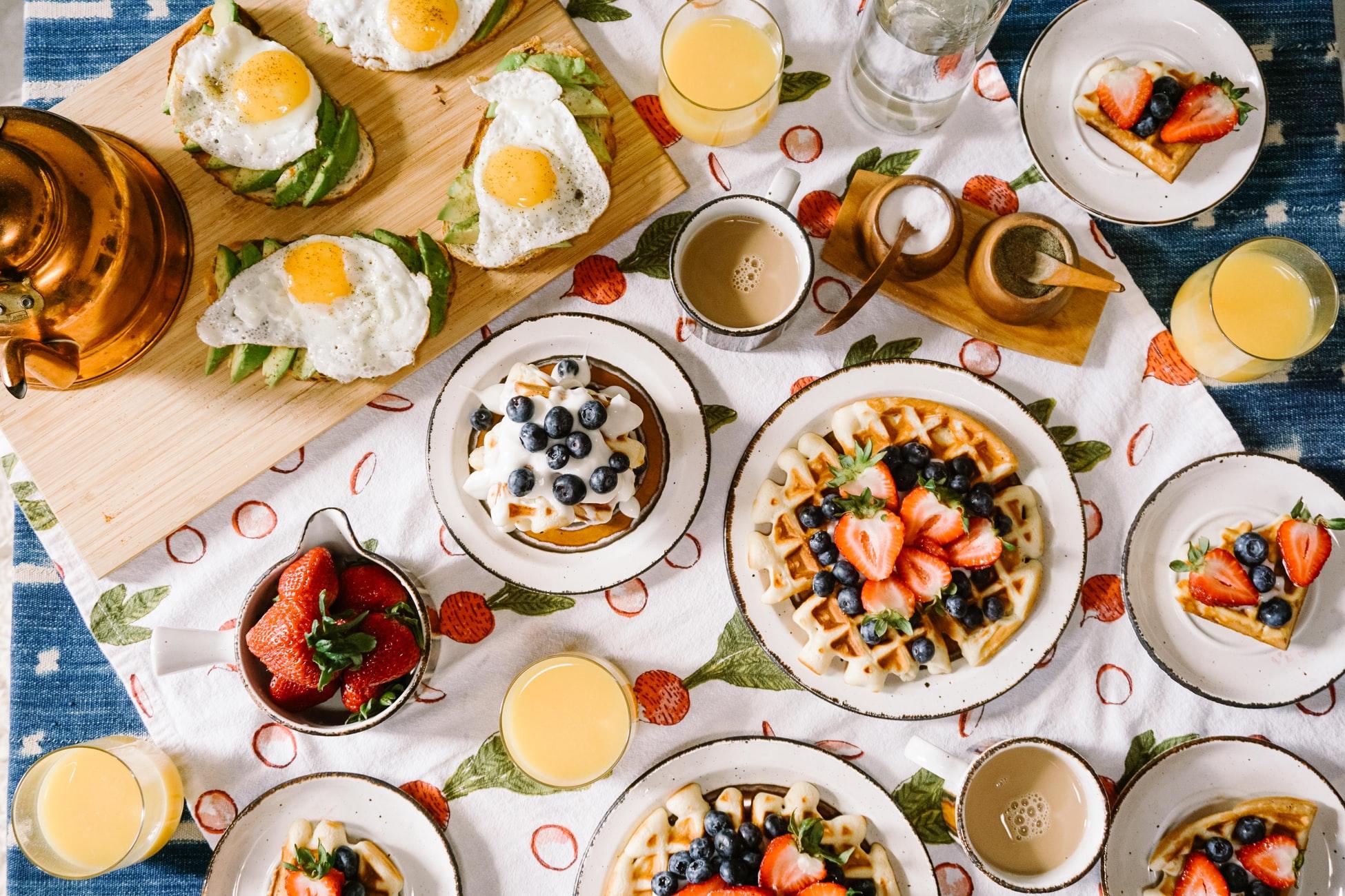 40 de idei de rețete pentru mic-dejun
